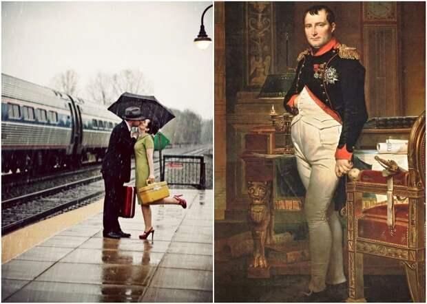 Романтика и Наполеон отмечены во французском законодательстве. /Фото: chasikov.net.ru, drug-gorod.ru