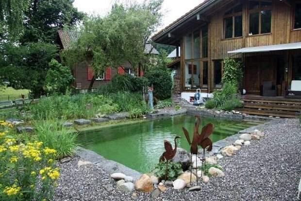 Недорогой бассейн для двора или дачи