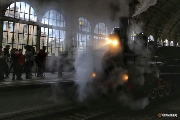«Овечка» и другие паровозы. Витебский вокзал окунулся в прошлое