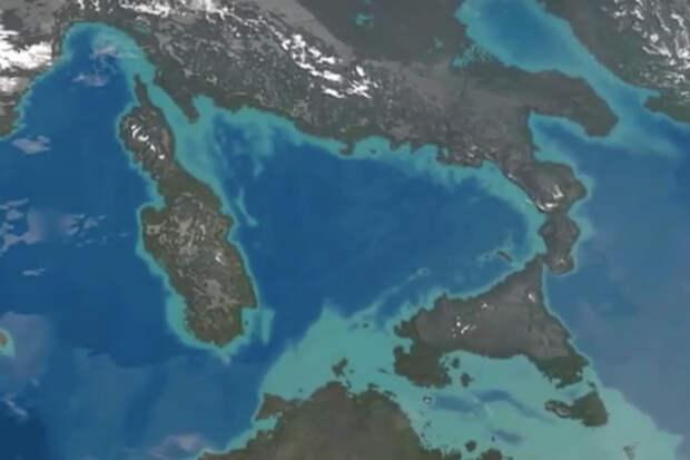 Что будет, если осушат Средиземное море