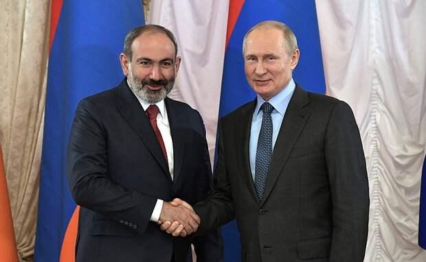 Пашинян попросил Путина о военной помощи