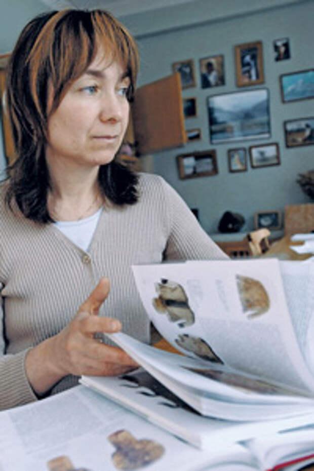 Наталья Полосьмак, первооткрывательница мумий из «ледяных могил» на Алтае.Фото ИТАР-ТАСС