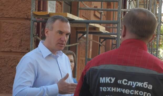 ВТюмени проходит капитальный ремонт дома наВодопроводной
