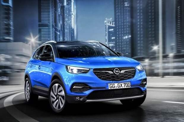 Молнией по Тигуану: Opel представил компактный Grandland X