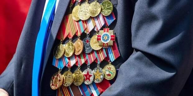 Собянин дистанционно пообщался с ветеранами и поздравил их с Днем Победы. Фото: mos.ru