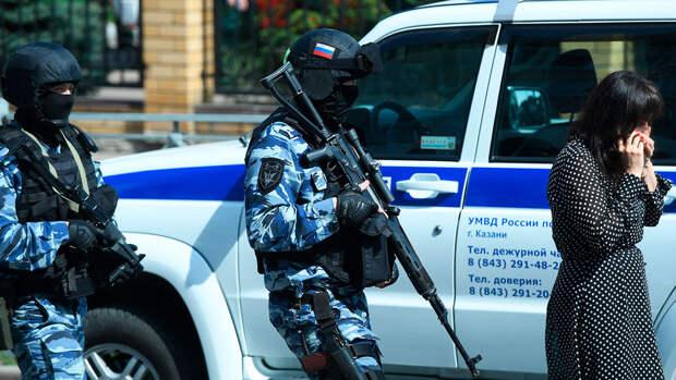 Сообщение о бомбе в казанской школе оказалось ложным