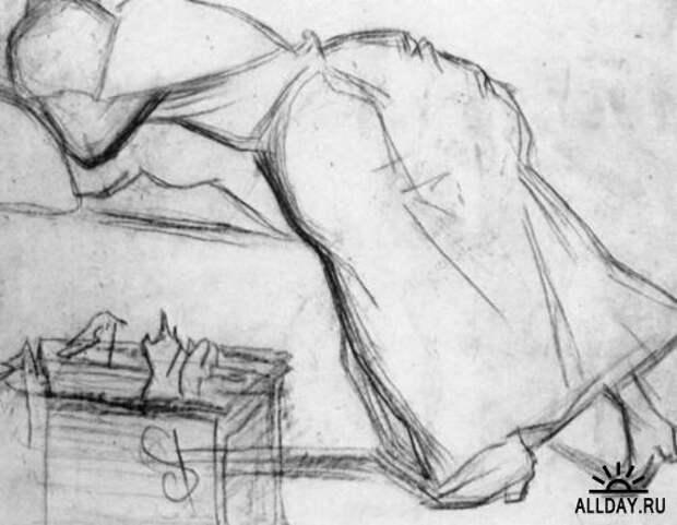 Шедевры импрессионизма. Жорж Сёра - рисунки