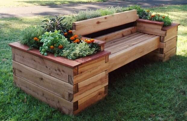 10 шикарных скамеек для комфорта и красоты в вашем дворе