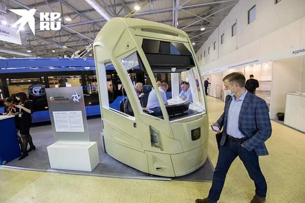 Электробус с панорамными окнами и маршрутки с зарядкой от розетки: в Москве показали транспорт будущего