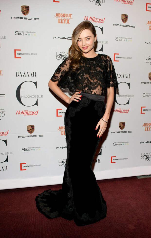 Миранда Керр: премьера фильма о моде «Mademoiselle C» в Нью-Йорке