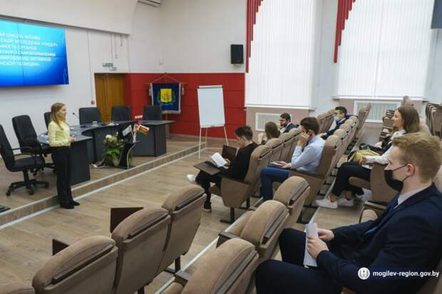 Семинар областной школы актива студенческой молодежи ´Лидер´ в Могилеве.