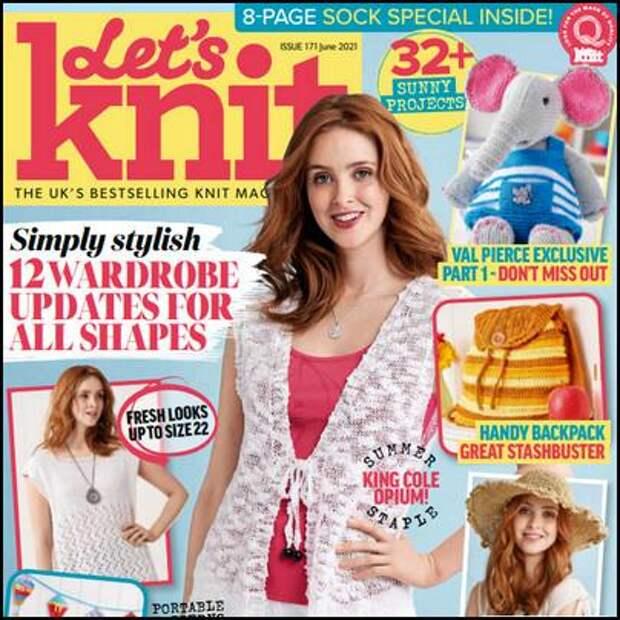 Let's Knit №171, июнь 2021