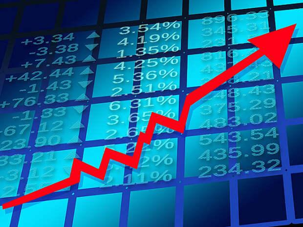 Российский рынок акций открылся в плюсе