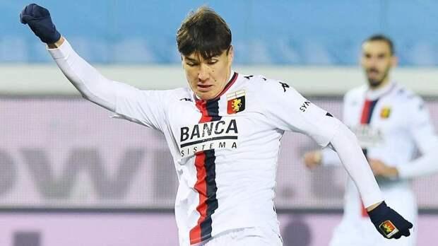 Гол Шомуродова не спас «Дженоа» от поражения в матче с «Лацио»