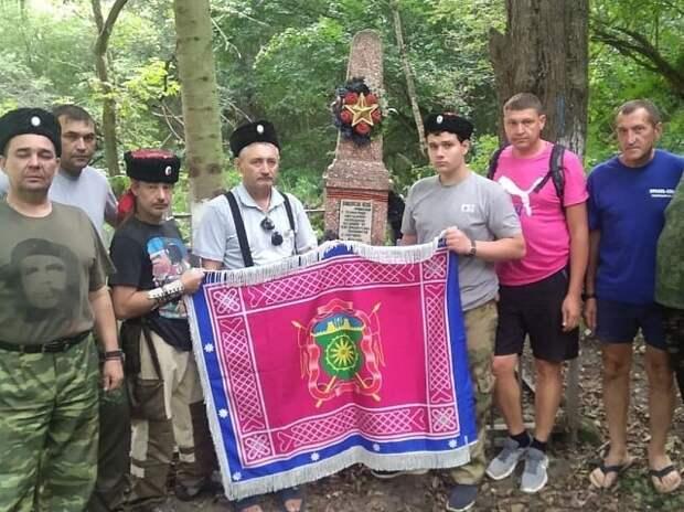 Казаки Тихорецкого РКО почтили память защитников Кавказа