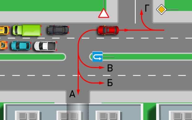 Как спастись от пробки и штрафа — простой тест по ПДД