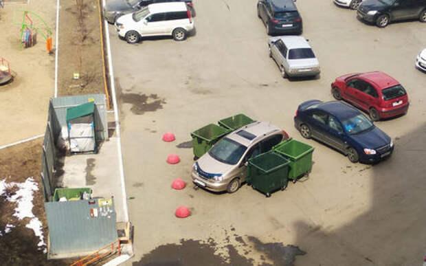 Припарковался, как попало? Ну вот тебе тогда месть коммунальщиков