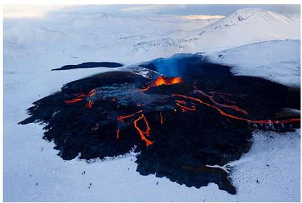 Извержение вулкана повысило спрос на недвижимость поблизости