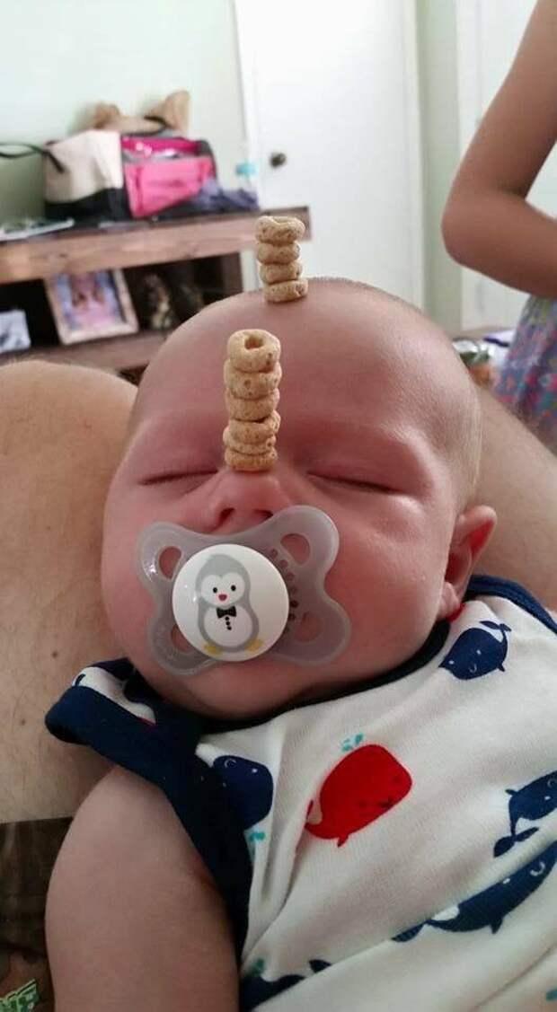 Пока ребенок спит... в мире, дети, люди, подборка, прикол, юмор