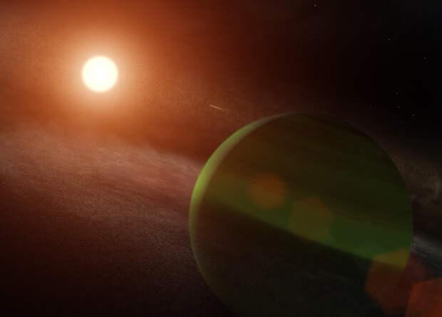 Астрономы впервые померили плотность молодой экзопланеты