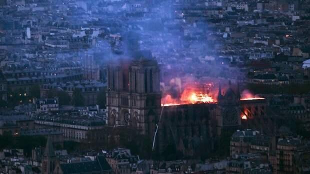 Почему пожар в Нотр-Дам не трагедия и почему пожарные не виноваты Нотр Дам, пожар, пожарные, трагедия