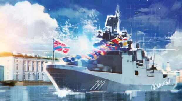 Силы Черноморского флота РФ взяли на сопровождение британский патрульный корабль Trent