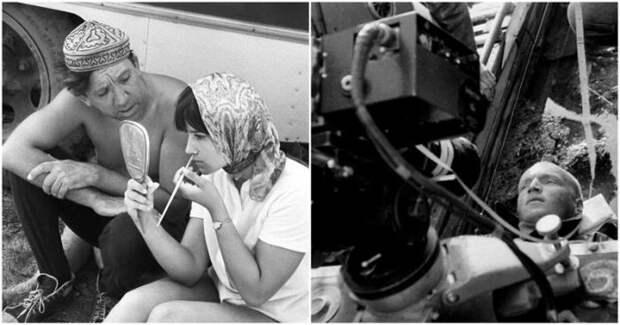 Интересные кадры со съемок наших любимых советских фильмов (22 фото)