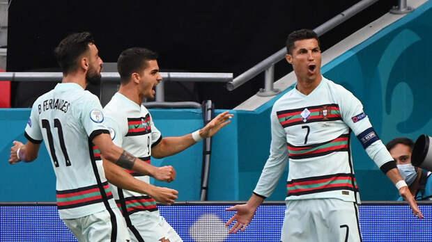 Роналду: благодарен команде за то, что помогла забить два мяча в ворота Венгрии