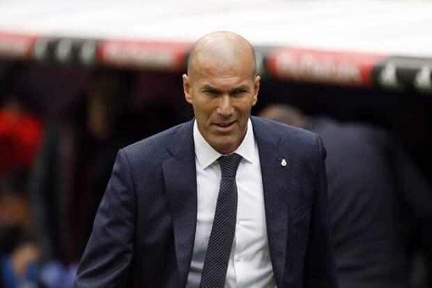 Зидан объявил игрокам об уходе из «Реала»