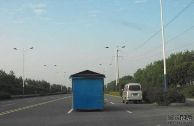 Китайский дом на колесах (5 фото)