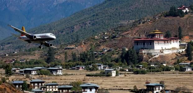 Аэропорт в Бутане