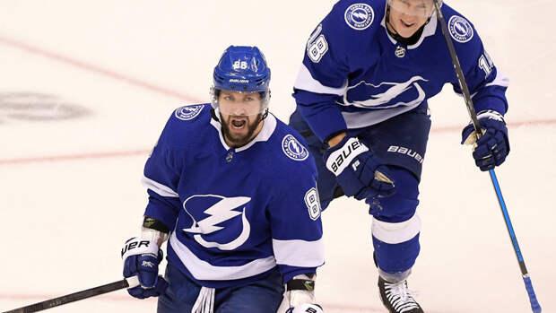 Кучеров вышел начетвертое место порезультативности вплей-офф НХЛ среди россиян