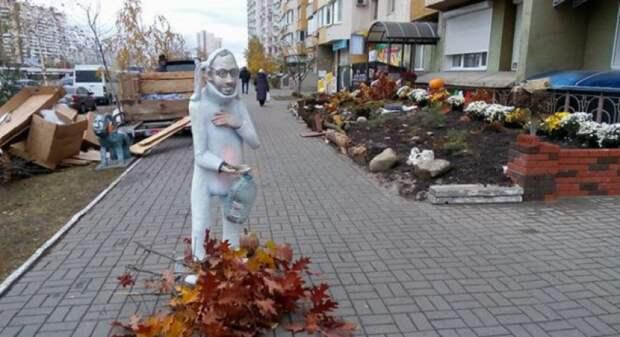 Торжество по Фрейду: Украина и в Хеллоуин не смогла обойтись без Путина