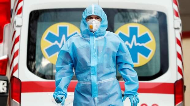 На Украине заявили о выходе страны из третьей волны коронавируса
