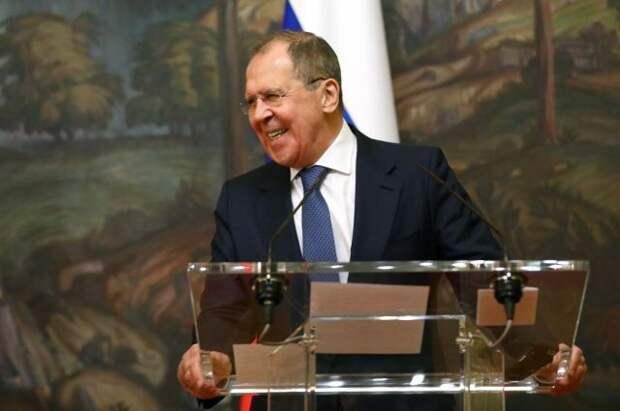 Лавров пошутил о втором месте РФ по «вмешательству» в дела США