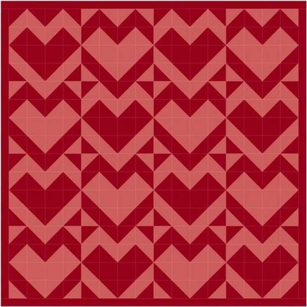 Пэчворк с сердечками - часть 2 (трафик)