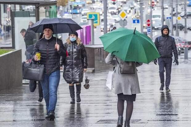 С начала мая в Москве выпало 120% месячной нормы осадков