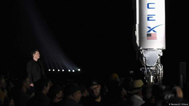 USA Texas   SpaceX & Elon Musk, Mars-Rakete Starship in Boca Chica
