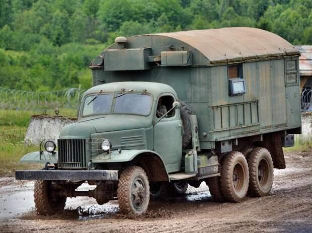 Зил-157 – самый лучший грузовой «проходимец» советской армии