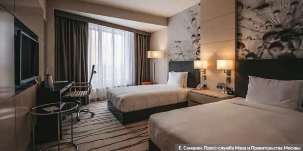 Москва проведет дезинфекцию гостиниц-участниц программы борьбы сCOVID-19. Фото: Е. Самарин mos.ru