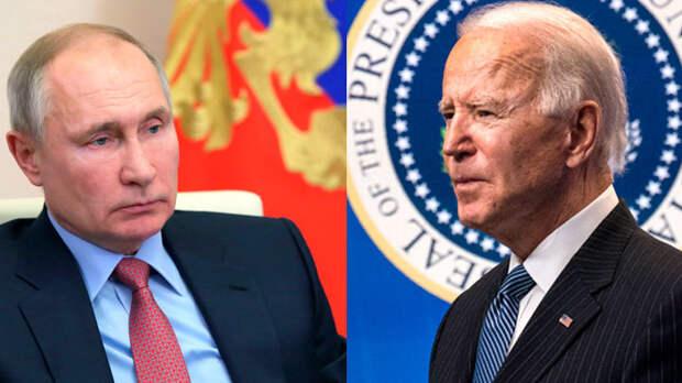 Байден врёт, обвиняет и угрожает. Путин стоит на своём