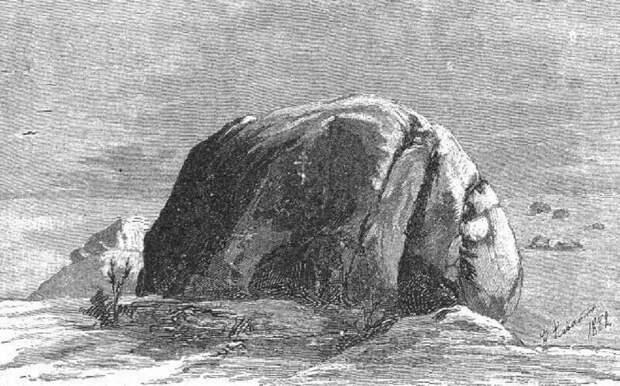 Литография из «памятки паломника» (Иллюстрация из открытых источников)