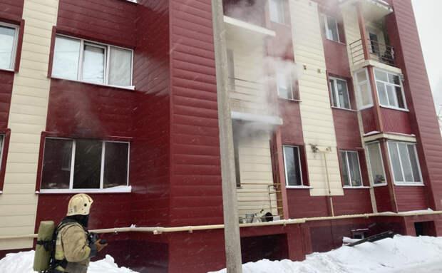 Три человека погибли при пожаре в Оренбурге