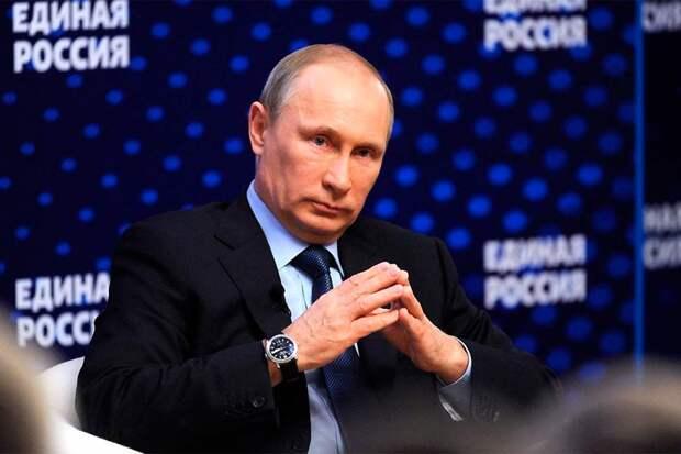 Путин окончательно сделал свой выбор и собирается поддержать «Единую Россию» 23 ноября на съезде