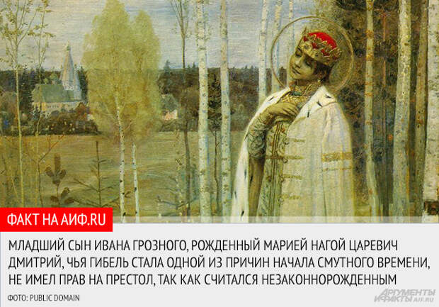 Иван Грозный и его женщины
