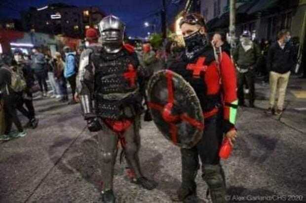 В Сиэтле (США) революция (ФОТО)