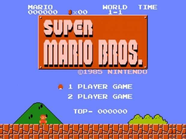 Super Mario Bros. 90-е годы, Денди 8 бит, любимые игры