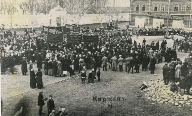 10 исторических фото первомайских демонстраций
