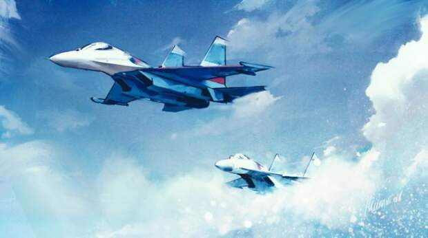 Иностранцы отреагировали на «опасный перехват» Су-27 бомбардировщика B-52