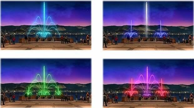 В Новороссийске предложили установить плавающий фонтан